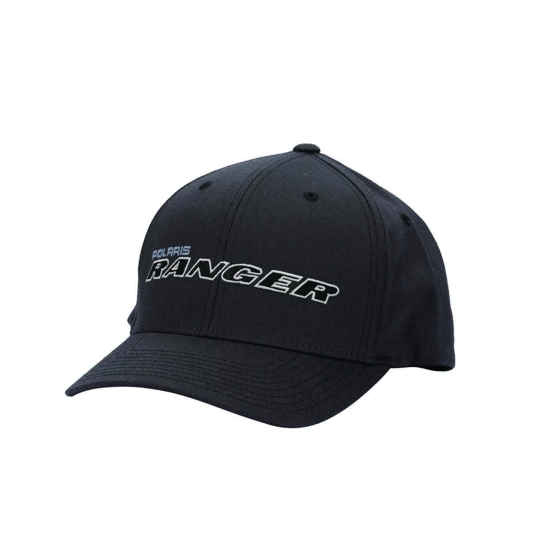 Men's (S/M) Flexfit Hat with Gray RANGER® Logo, Gray