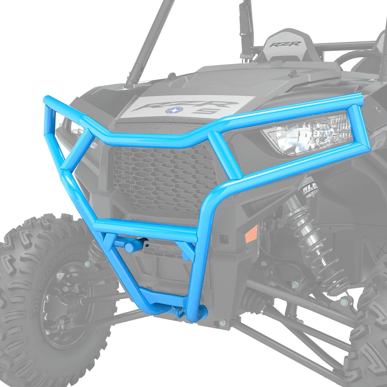 Polaris 2879451-619 Blue Extreme Front Bumper Attachment