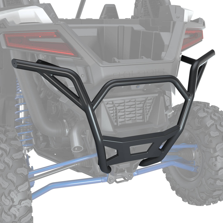 Rear Low Profile Bumper - Matte Black