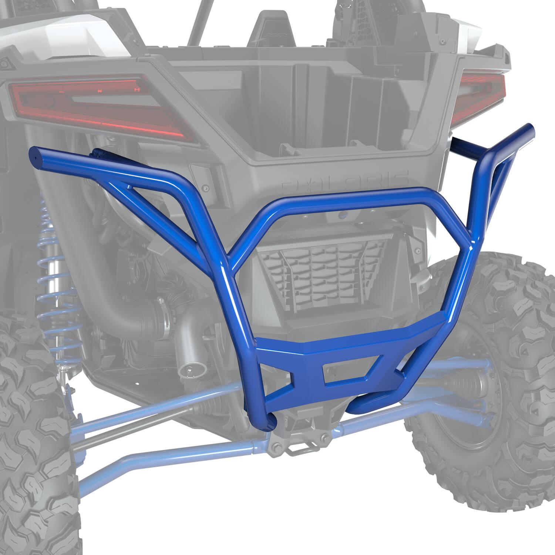 Rear Low Profile Bumper - Polaris Blue Metallic