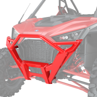 Front High Coverage Bumper - Indy Red