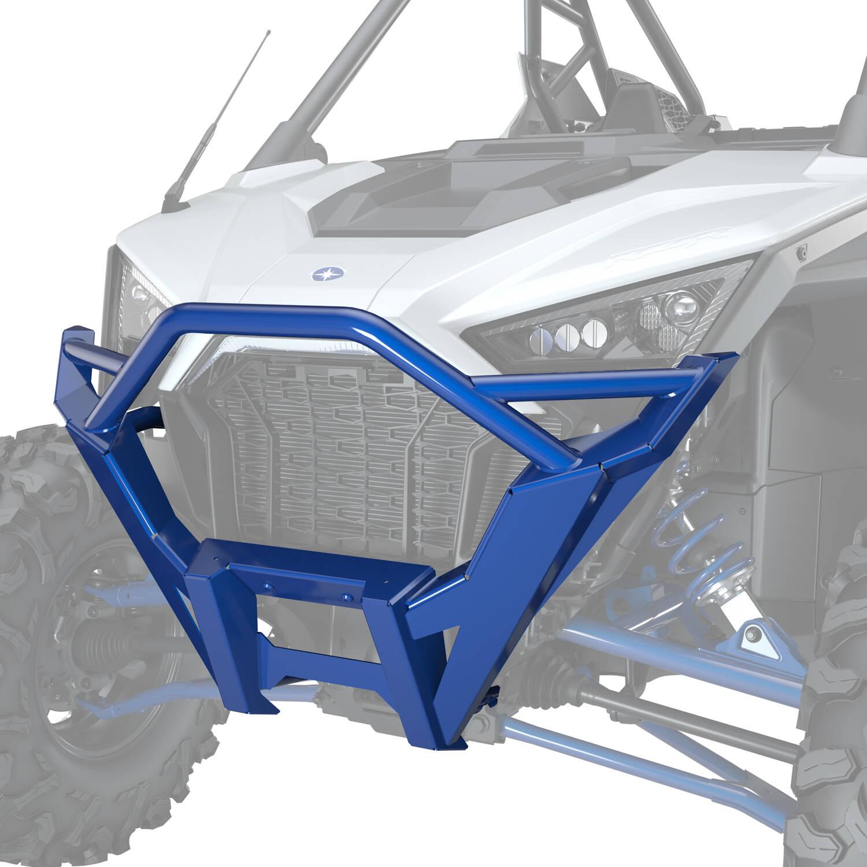 Front High Coverage Bumper - Polaris Blue Metallic
