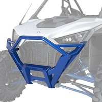 Front High Coverage Bumper, Polaris Blue Metallic
