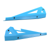 2-Seat Low Profile Rock Sliders - Indian Sky Blue - Image 3 of 3