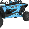 2-Seat Low Profile Rock Sliders - Indian Sky Blue - Image 2 of 3