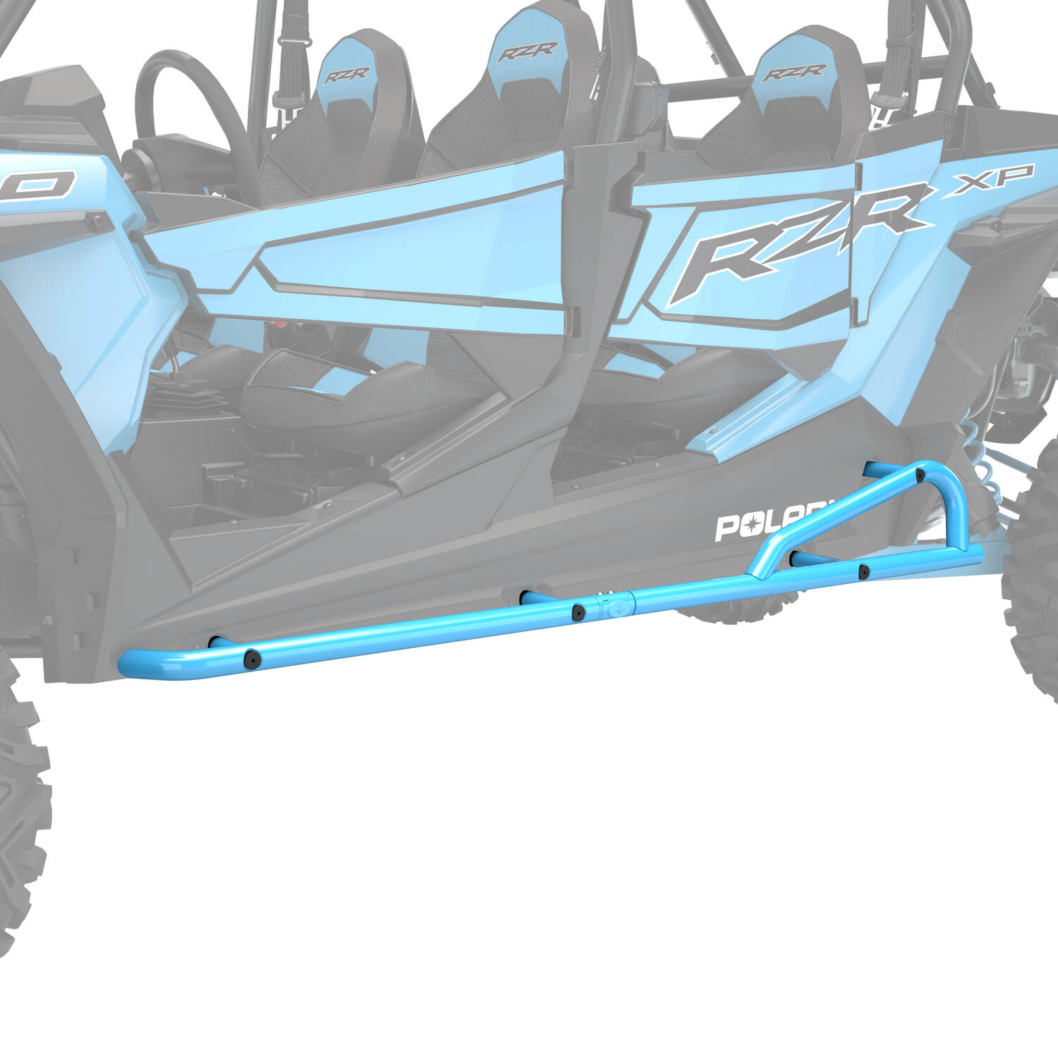 Extreme Kick-Out Rock Sliders - Indian Sky Blue