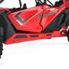 4-Seat Low Profile Rock Sliders, Indy Red - Image 3 of 3