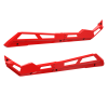 4-Seat Low Profile Rock Sliders, Indy Red - Image 2 of 3