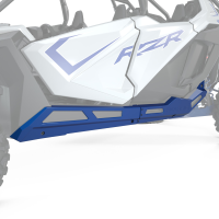 4-Seat Low Profile Rock Sliders, Polaris Blue Metallic