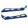 4-Seat Low Profile Rock Sliders, Polaris Blue Metallic - Image 2 of 3