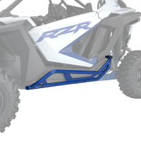 Extreme Kick-Out Rock Sliders - Polaris Blue Metallic