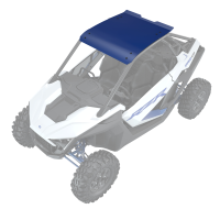 Aluminum Roof - Polaris Blue Metallic