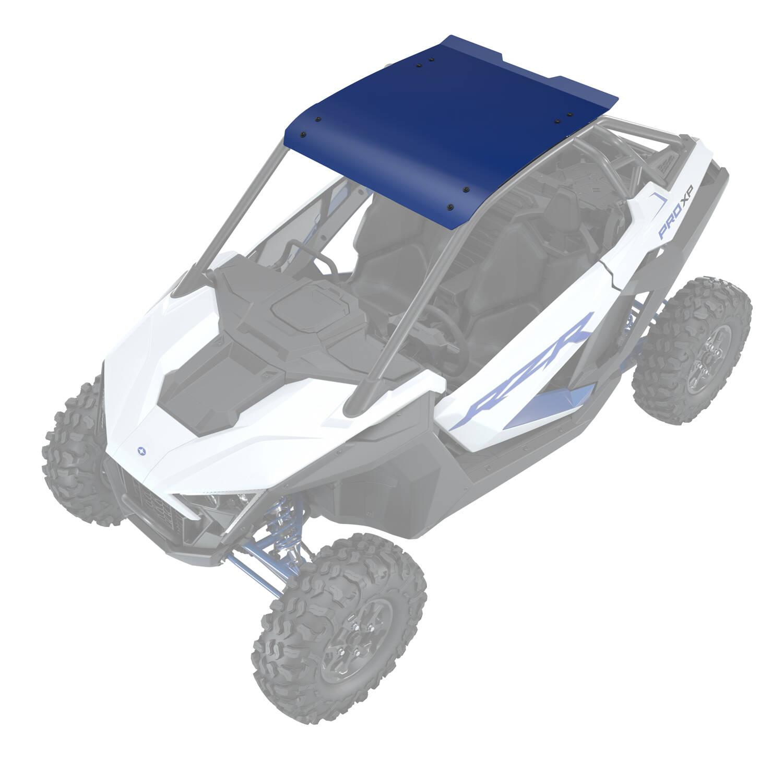 Aluminum Roof - Polaris Blue Metallic