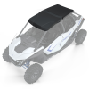 4-Seat Poly Sport Roof, Matte Black - Image 1 of 3