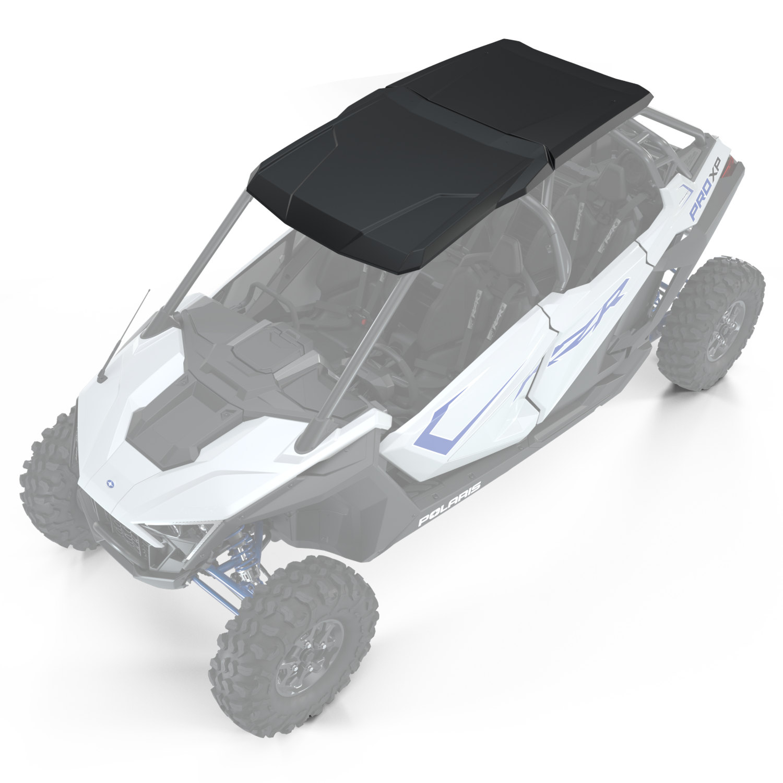 4-Seat Poly Sport Roof, Matte Black