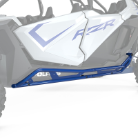 4-Seat Kick-Out Rock Sliders, Polaris Blue Metallic