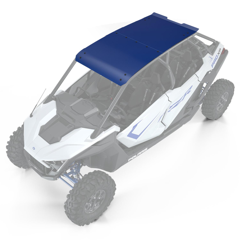 4-Seat Aluminum Roof, Polaris Blue Metallic