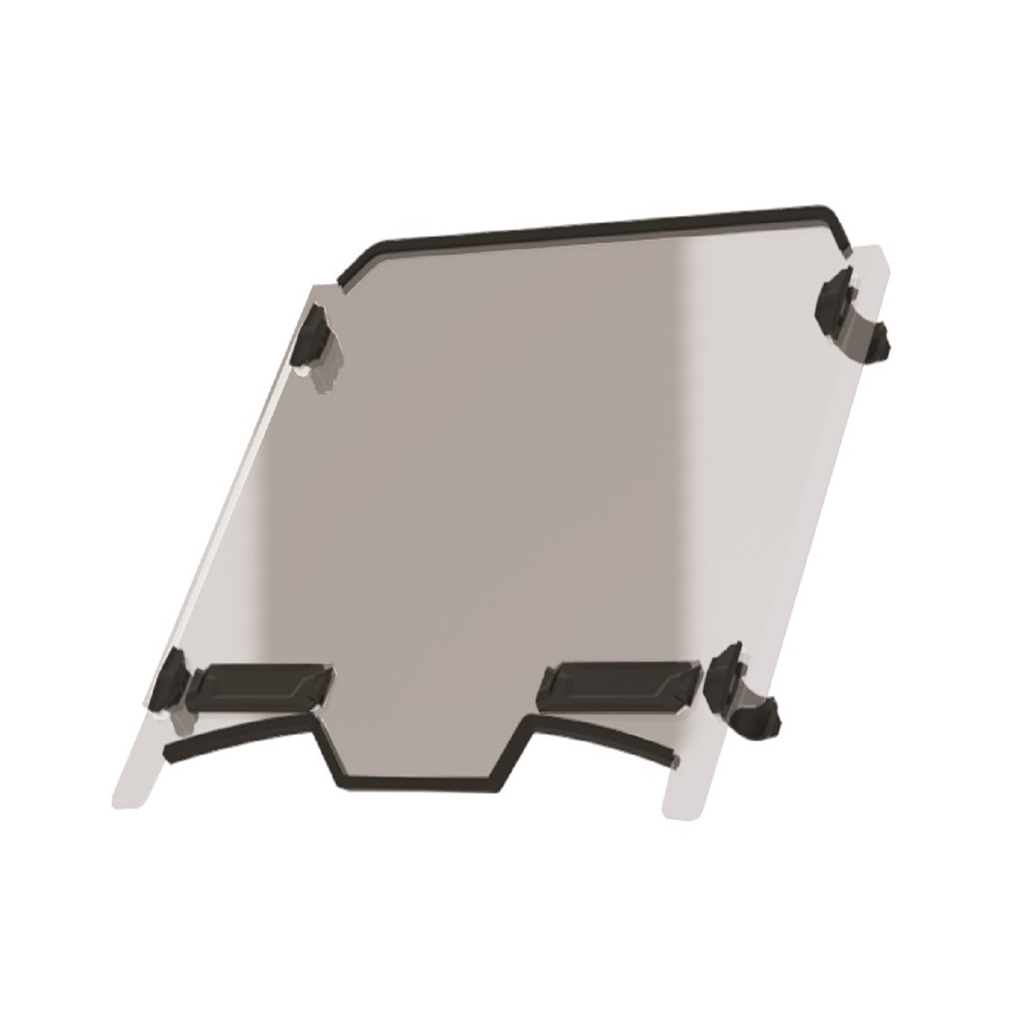 Hard Coat Poly Vented Full Windshield