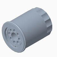 10 Micron Oil Filter, Genuine OEM Part 2540086, Qty 1