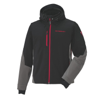 Men's Softshell Jacket with Slingshot Logo
