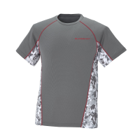 Men's Short-Sleeve Cooling Shirt with Slingshot Logo