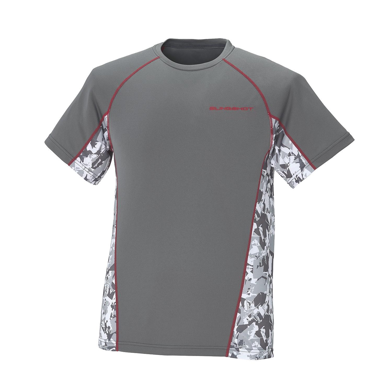 Men's Short-Sleeve Cooling Shirt with Slingshot Logo