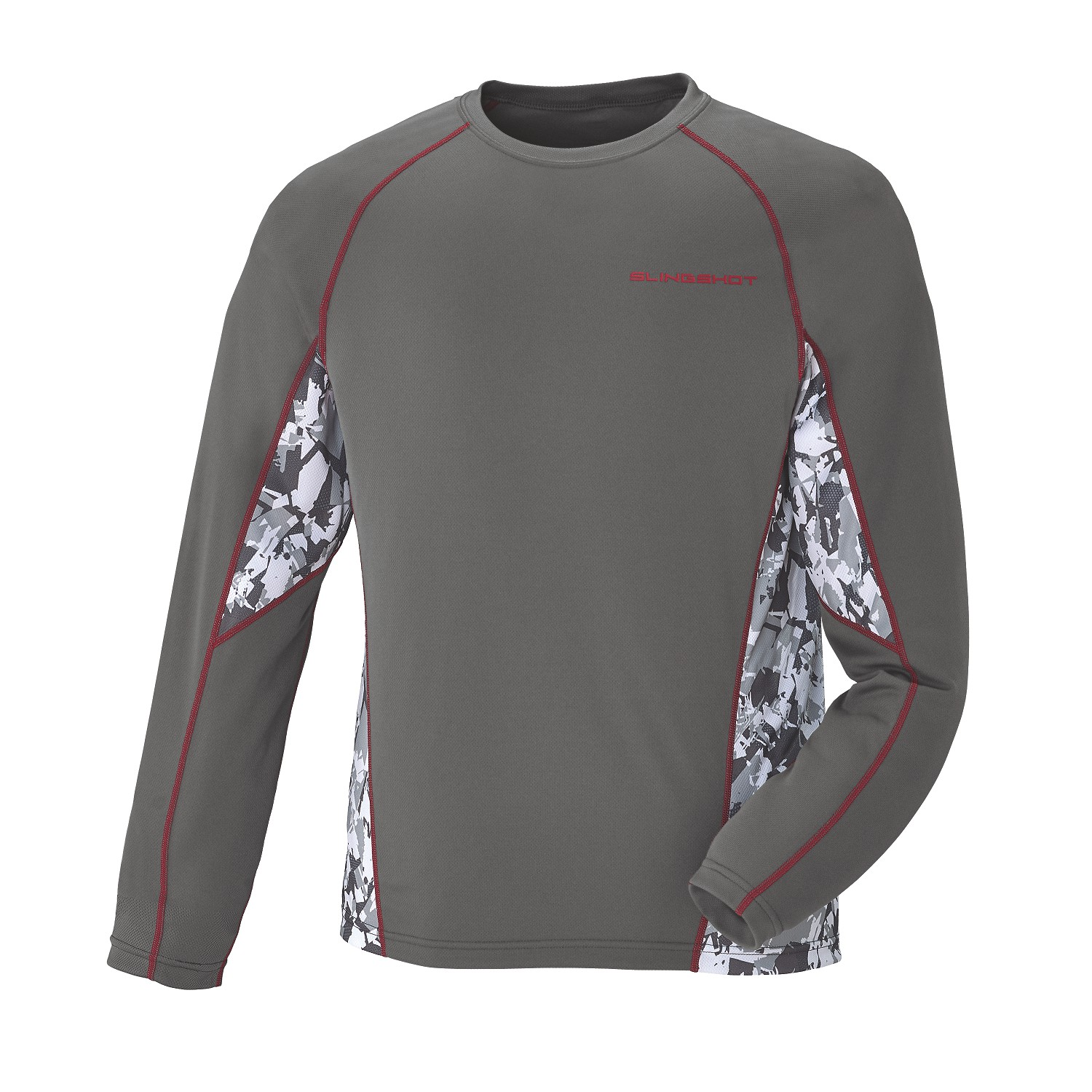 Men's Long-Sleeve Cooling Shirt with Slingshot Logo