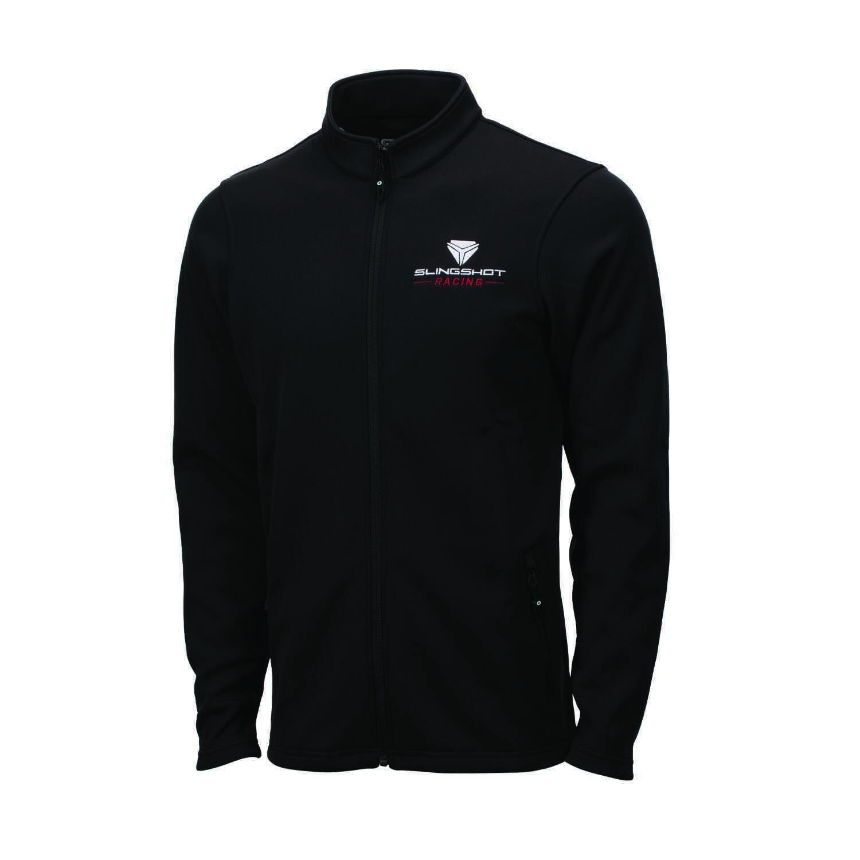 Men's Full-Zip Riders Jacket with Slingshot® Racing Logo, Black