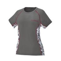 Women's Short-Sleeve Cooling Shirt with Slingshot Logo