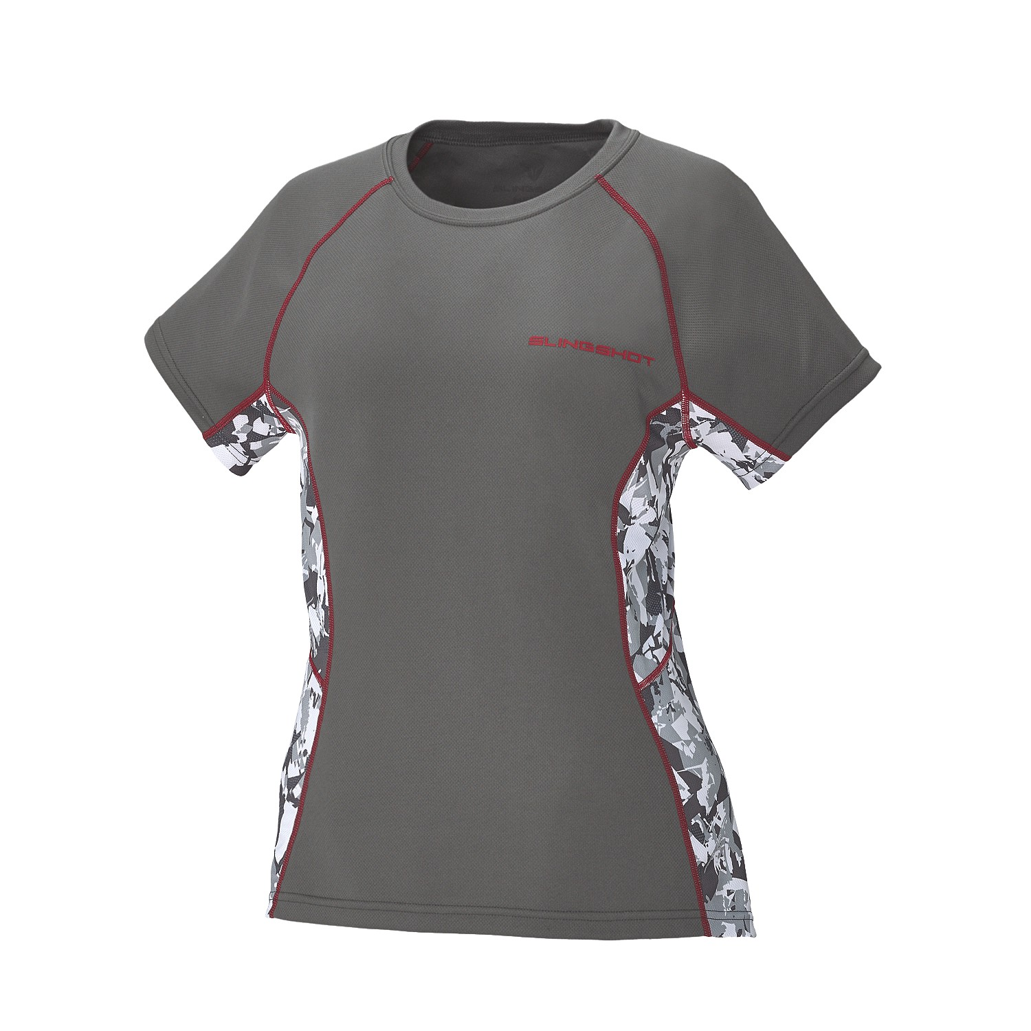 Women's Short-Sleeve Cooling Shirt with Slingshot Logo