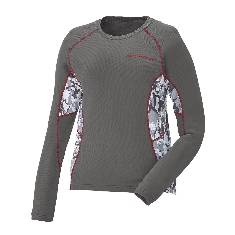 Women's Long-Sleeve Cooling Shirt with Slingshot Logo