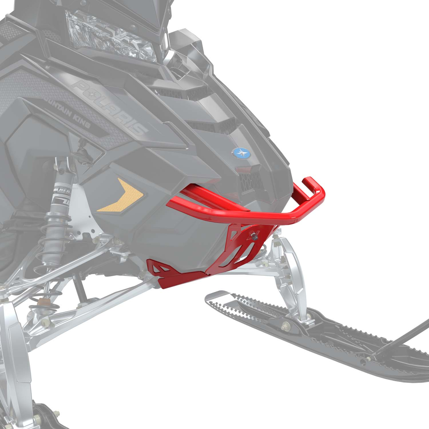 AXYS® Monarch Front Bumper - Red