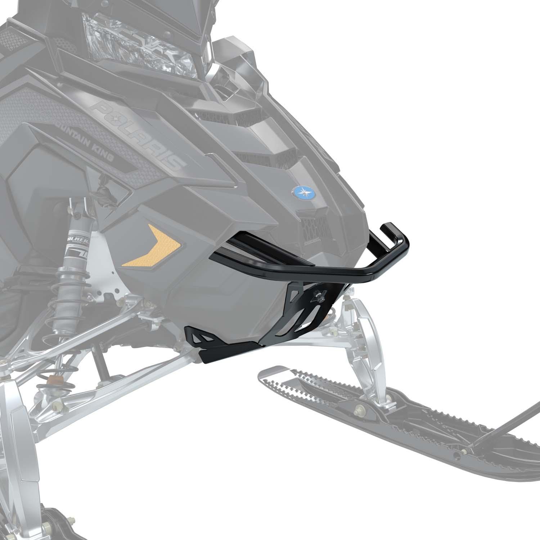 AXYS® Monarch Aluminum Front Bumper, Matte Black