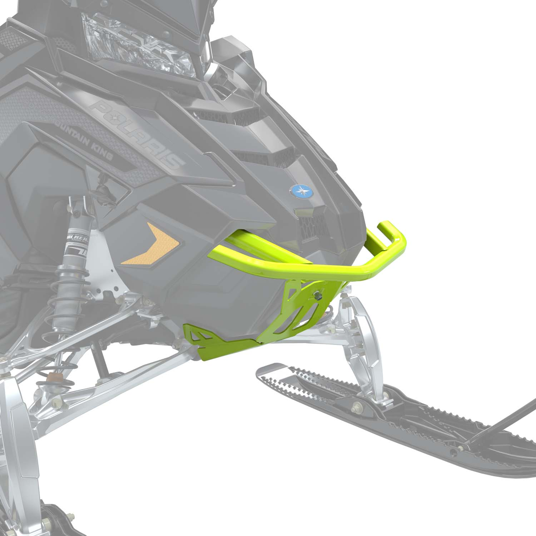 AXYS® Monarch Aluminum Front Bumper, Lime Squeeze