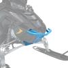 AXYS Monarch Aluminum Front Bumper, Sky Blue - Image 1 de 3