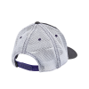 Women's Adjustable Mesh Snapback Hat with Polaris® Snow Patch, Gray/White - Image 4 of 4