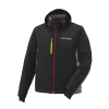 Men's Softshell Jacket with Lime Polaris® Logo, Black - Image 1 of 2