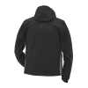 Men's Softshell Jacket with Lime Polaris® Logo, Black - Image 2 of 2