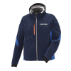 Men's Softshell Jacket with White Polaris® Logo, Navy - Image 1 of 5