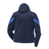 Men's Softshell Jacket with White Polaris® Logo, Navy - Image 2 of 5