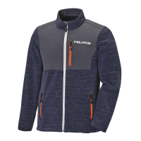 Men's Full-Zip Mid Layer Jacket with Polaris® Logo