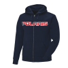 Men's Full-Zip Core Hoodie Sweatshirt with Polaris® Logo, Navy - Image 3 of 3