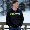 Men's Full-Zip Core Hoodie Sweatshirt with Polaris® Logo, Black/Lime - Image 3 of 4