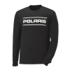 Men's Long-Sleeve Dash Shirt with Polaris Logo, Black - Image 1 of 2