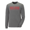Men's Long-Sleeve Dash Shirt with Polaris Logo, Gray Frost - Image 1 of 3