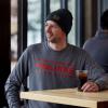 Men's Long-Sleeve Dash Shirt with Polaris Logo, Gray Frost - Image 2 de 3