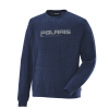 Men's Crew Sweatshirt with Logo, Navy - Image 1 de 1