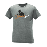 Men's Short-Sleeve Brap Graphic Tee with Polaris® Logo Gray