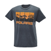 Men's 4-Scene Graphic T-Shirt with Polaris® Logo, Blue/Orange - Image 1 de 3