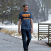 Men's 4-Scene Graphic T-Shirt with Polaris® Logo, Blue/Orange - Image 3 de 3